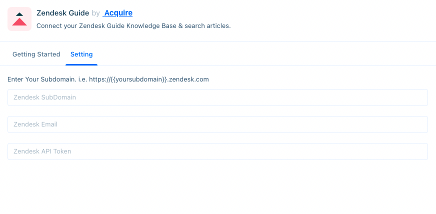 zendesk-guide-settings-asking-for-subdomain,-email,-and-api-key-a1600c8ec24b23cee87cd551.png